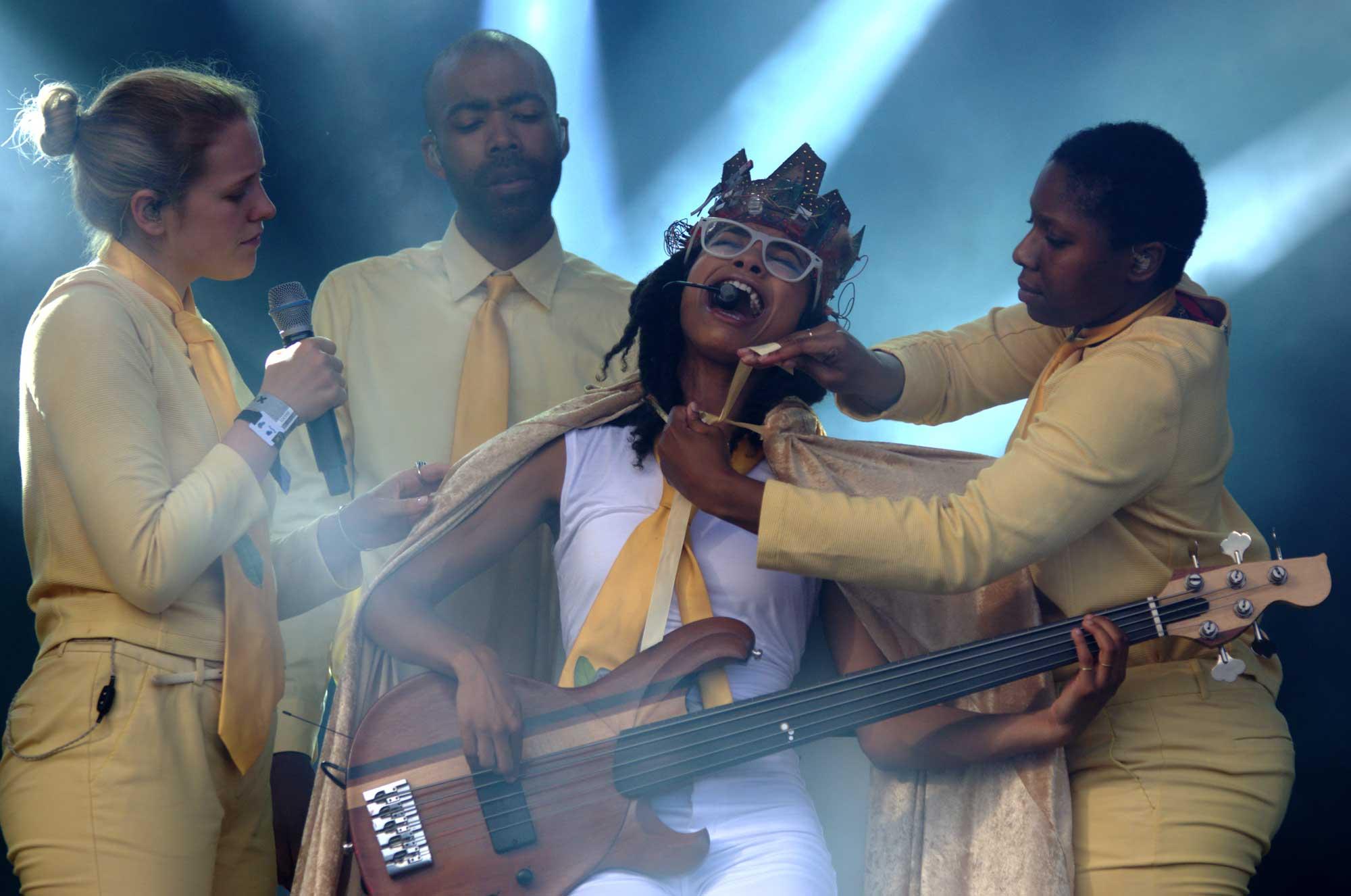 Esperanza Spalding se come el Cruïlla2016