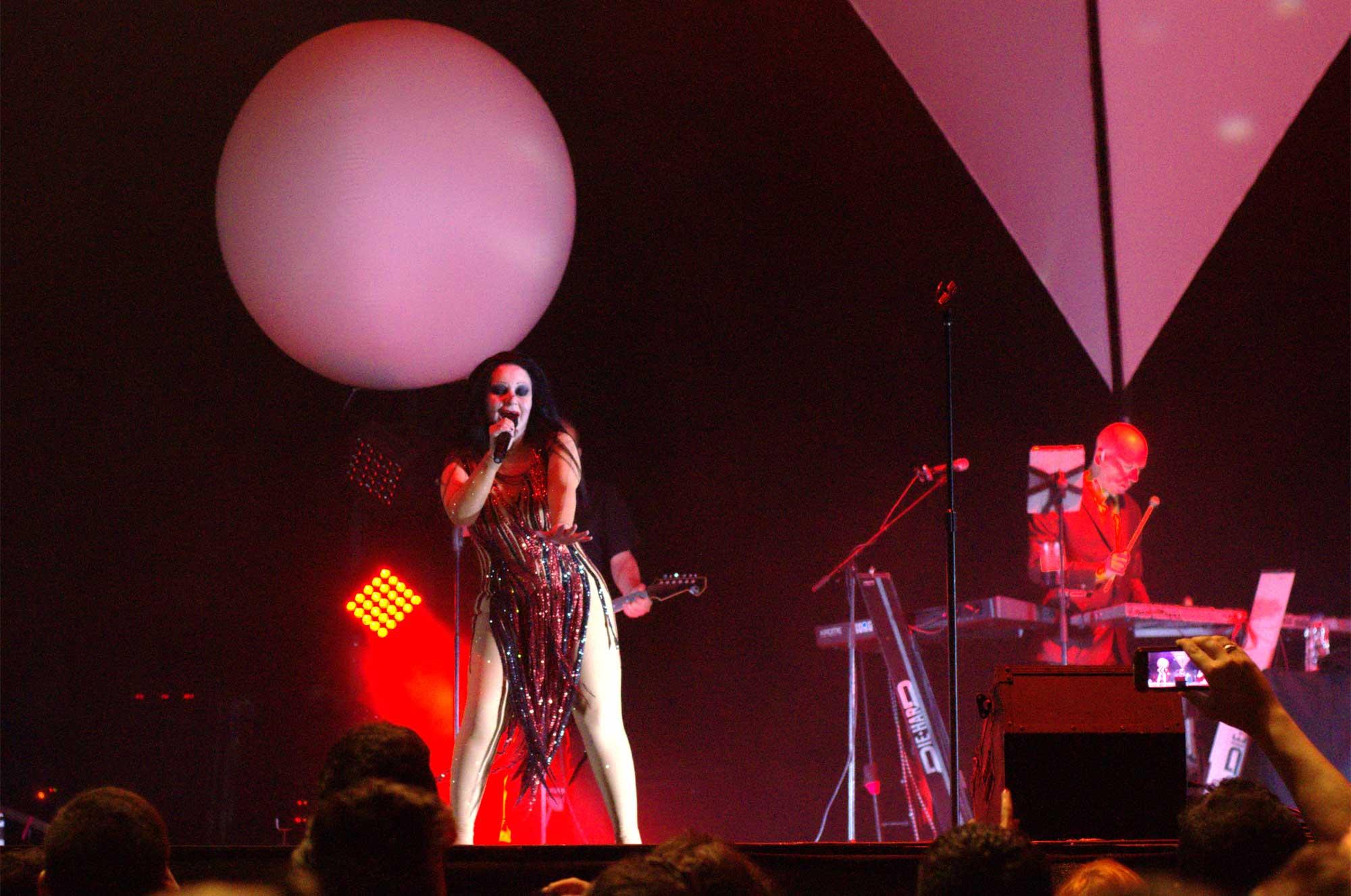Fotografías del concierto de Fangoria en la Fiesta Mayor de Sant Boi de Llobregat