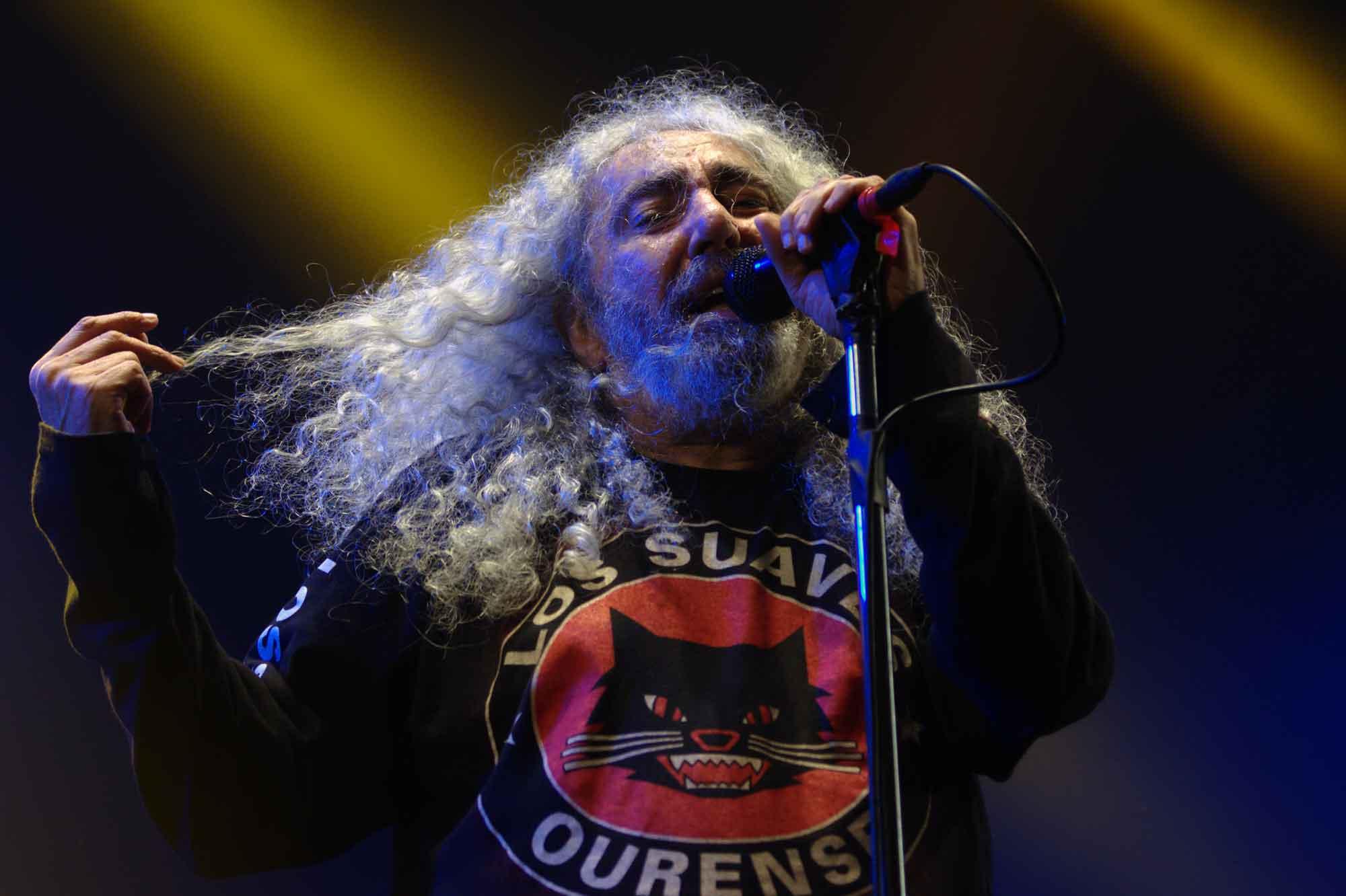 Fotografies d'una nit de rock'n'roll a L'Hospitalet: Loquillo, Los Suaves i Boni