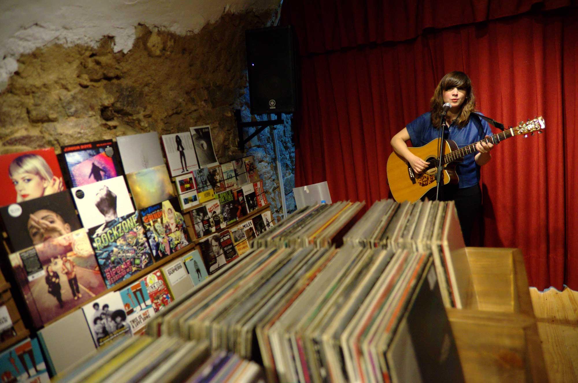 Fotografíes del Record Store Day 2016 a Barcelona