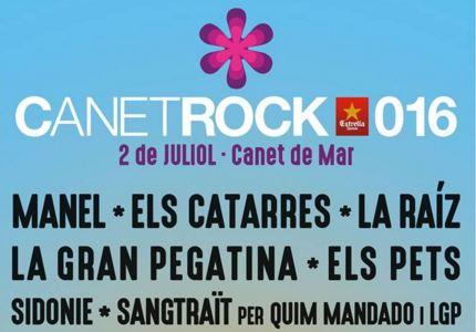 El Canet Rock 2016 vuelve con 12 horas de conciertos: Manel, Els Pets, Sidonie, La Gran Pegatina...