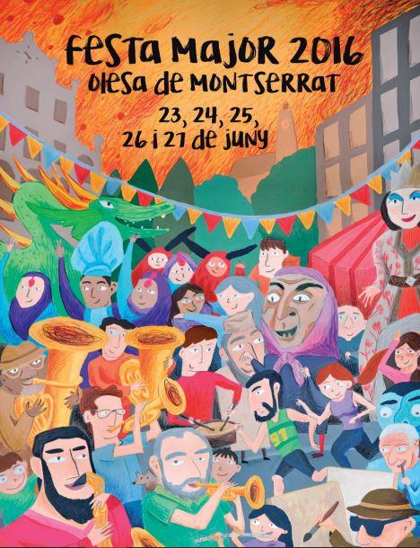 Dr. Calypso, La Salseta del Poble Sec, Pachawa Sound o Steel Balls, a la Festa Major d'Olesa de Montserrat 2016