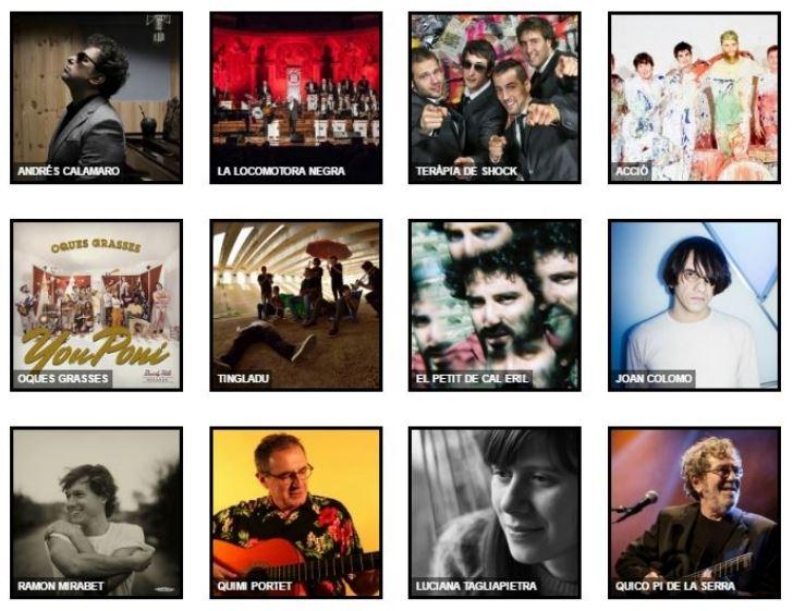 Andrés Calamaro y Quimi Portet, los grandes nombres del Festival Ítaca