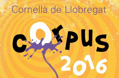 Chenoa, Els Catarres and Amelie, in the Corpus 2016 Festival in Cornellà de Llobregat