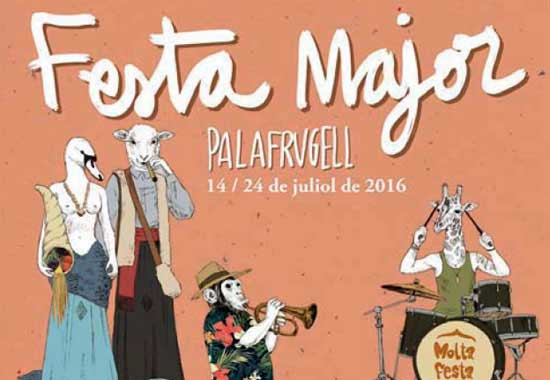 Festa Major de Palafrugell 2016: Green Valley, Global Discontent, Enric Verdaguer, Strombers, Eva Fernández...