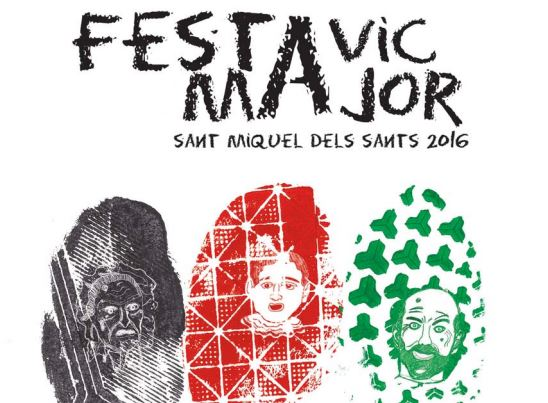 Fiesta Mayor de Vic 2016: Oques Grasses, Tex & Sunflower Seeds, Nyandú, Santo Machango, La Sra Tomasa...