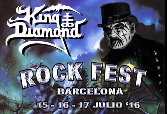 Rock Fest 2016 schedules