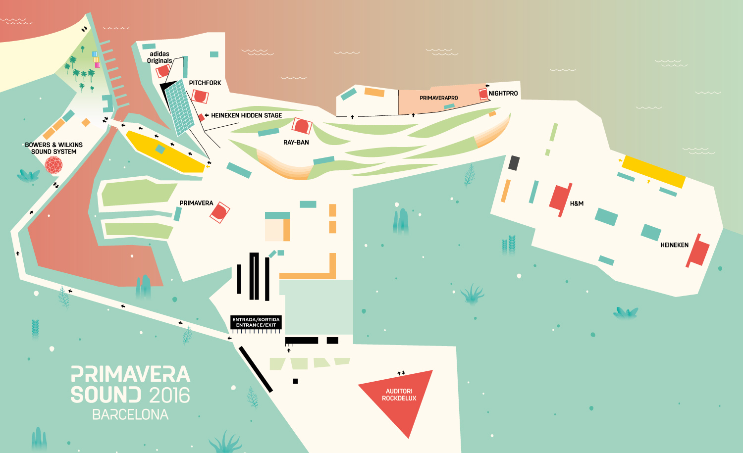 Horaris del Primavera Sound 2016