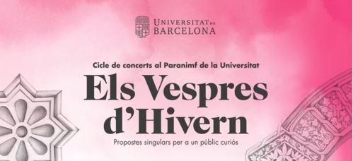 El cicle de concerts gratuïts Vespres a la UB tindrà una versió d'Hivern