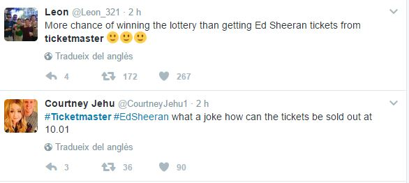 Sold out tickets for Ed Sheeran's concerts around the world